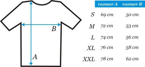 21225033c3e Na požiadanie vieme zabezpečiť veľkosť trička až do 5XL. Prosíme však