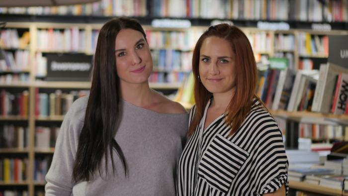 Lucia Okša a Zuzana Matuščáková, autorky projektu