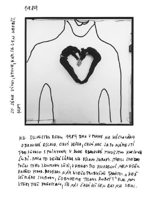 Jeden z obrazových príspevkov Mira Švolíka